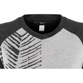 ION Scrub AMP T-Shirt Manches Longues 3/4 Femme, grey melange